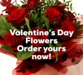 Valentine's Day Flowers *Order Yours Now* 09/02/21